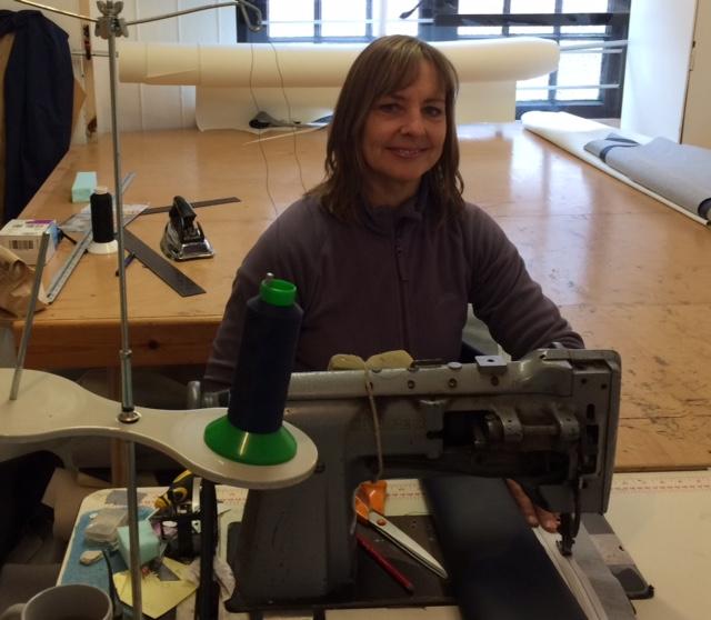 Liza in the workshop